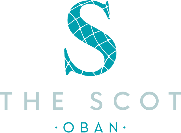 The Scot Oban logo with text